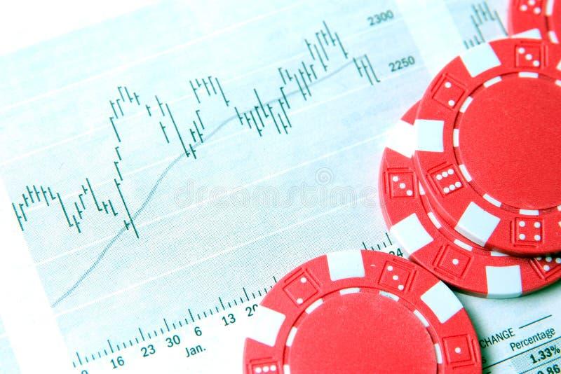 Finanzierung und Spielen lizenzfreie stockfotos