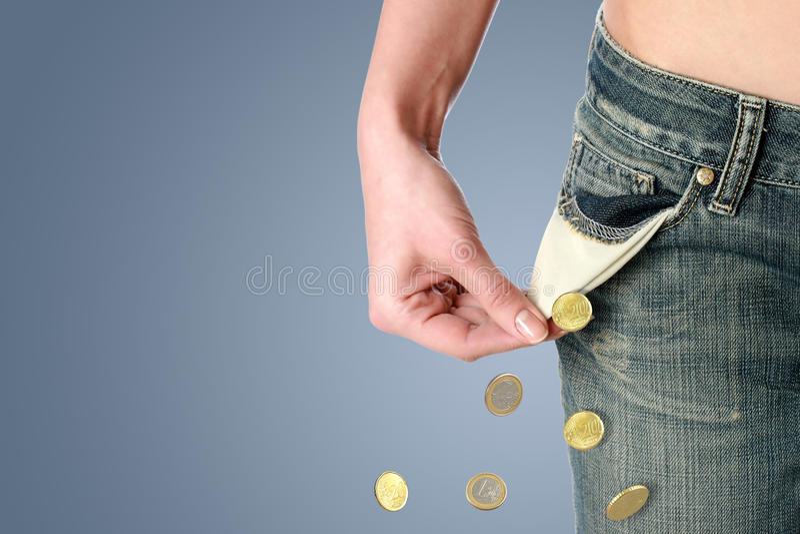 Finanzkrise cocnept. lizenzfreie stockfotografie