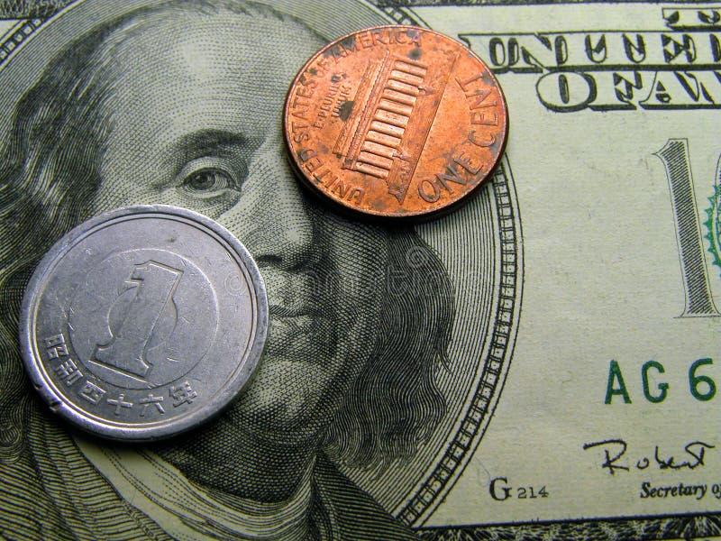 Finanzmaßeinheiten stockfotografie