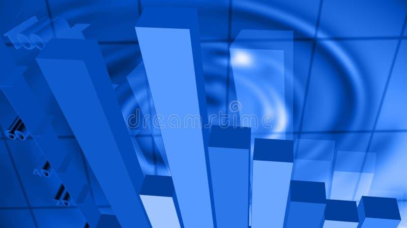 Finanznotfall-Hintergrund lizenzfreie abbildung