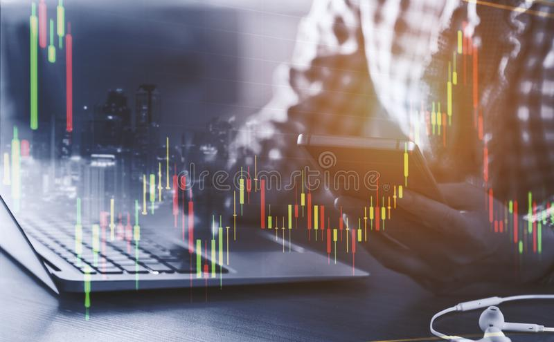 Finanzplanungskonzept stockfotografie