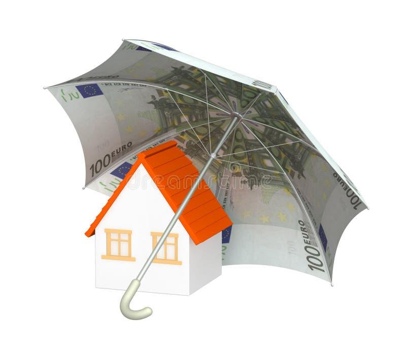 Finanzschutz stock abbildung