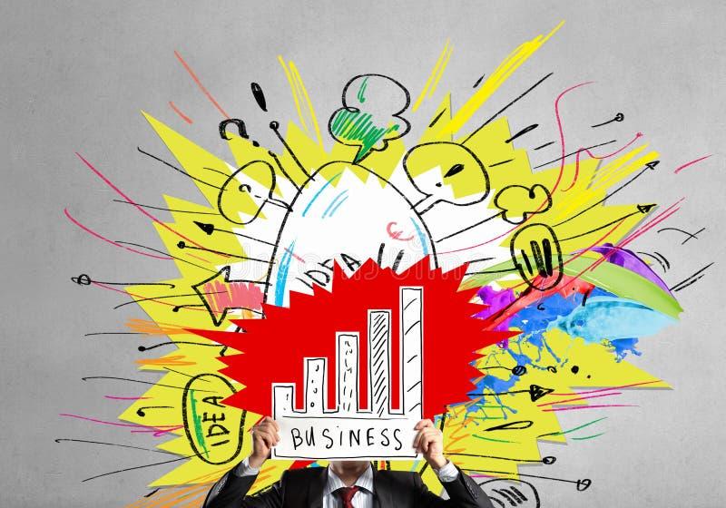 Finanzwachstum und Einkommen lizenzfreie abbildung