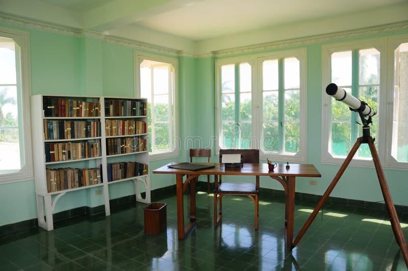 Finca Vigia, casa di Hemingway, Cuba. fotografia stock