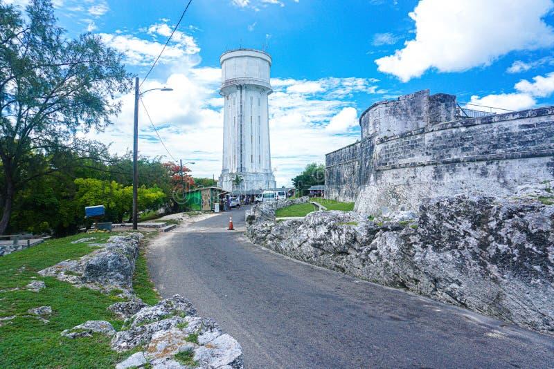 Fincastle forte a Nassau Bahamas immagini stock libere da diritti