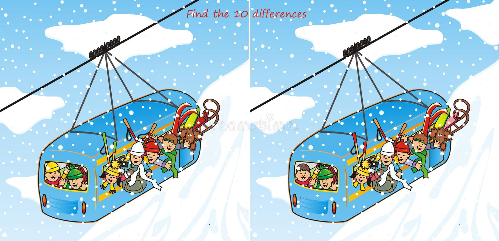 Download Find The 10 Differences Stock Photography - Image: 27005092