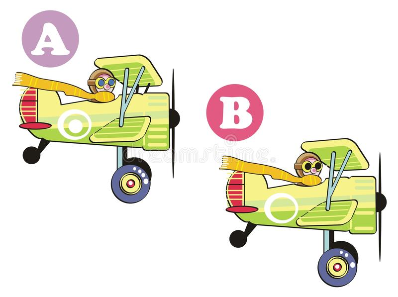 Download Find the 7 differences stock vector. Image of leisure - 24511828