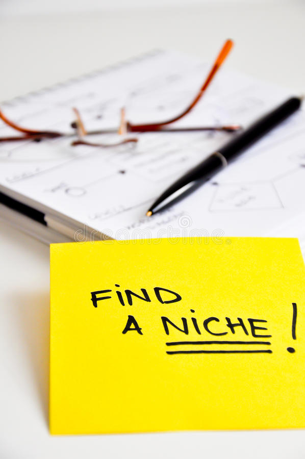 Free Find A Niche Market Stock Photography - 34825722