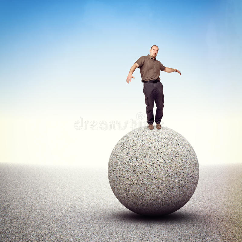 Download Find Balance Royalty Free Stock Photo - Image: 25325355