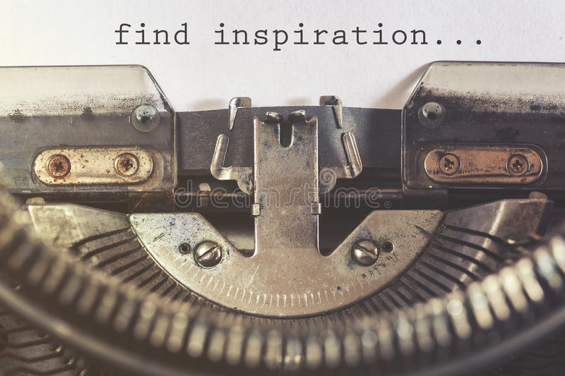 Find inspiration motivational message royalty free stock image