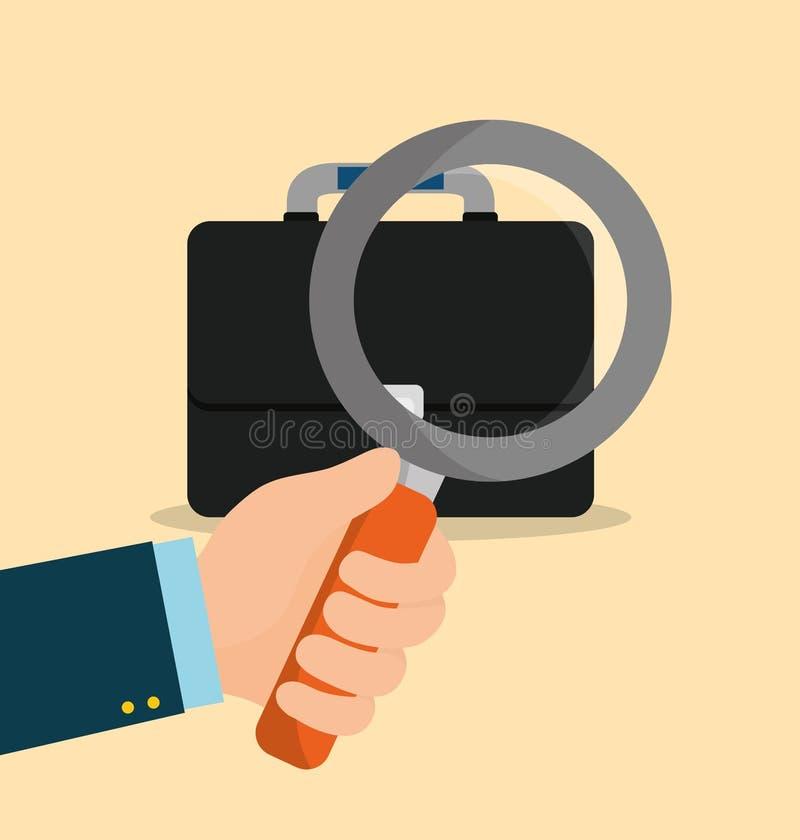 Find a job. Icon vector illustration graphic design stock illustration