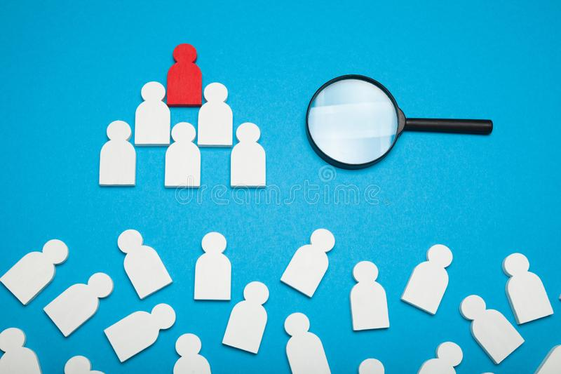 Find job talent, recruit assessment. Audit, candidate interview.  royalty free stock photos