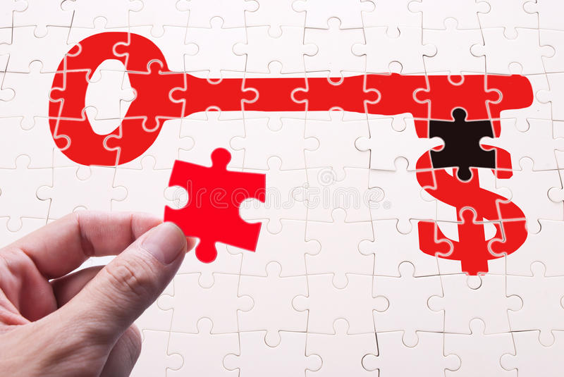 Download Find key of wealth stock photo. Image of puzzle, incentive - 20830672