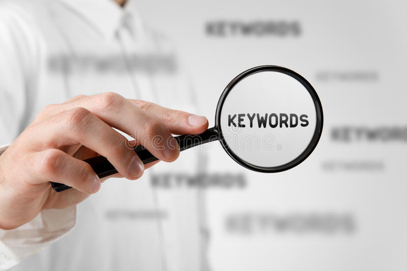 Find keywords stock photography