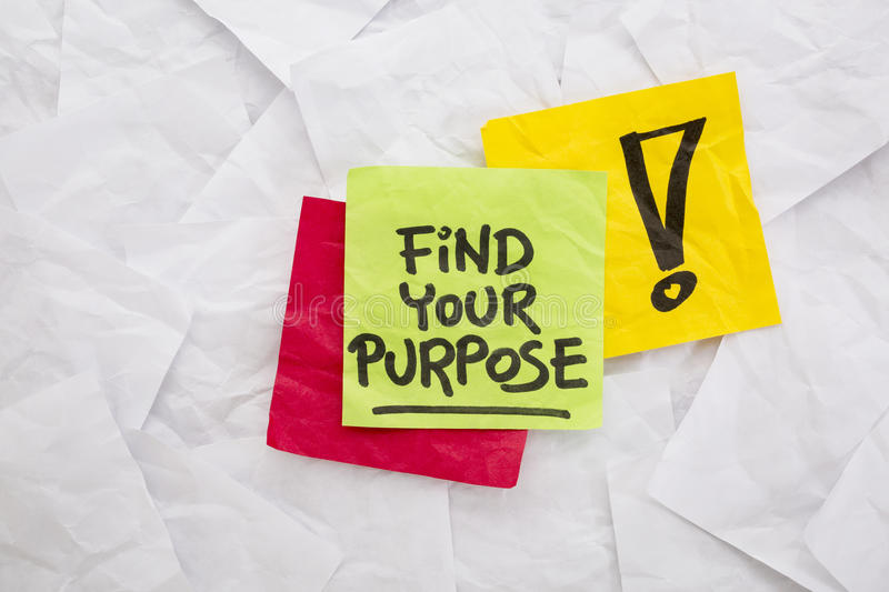 Download Find your purpose stock photo. Image of motivation, mission - 43650180