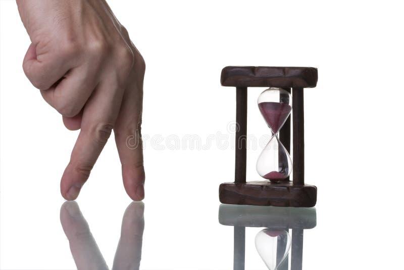 Finden von Zeit stockfotos