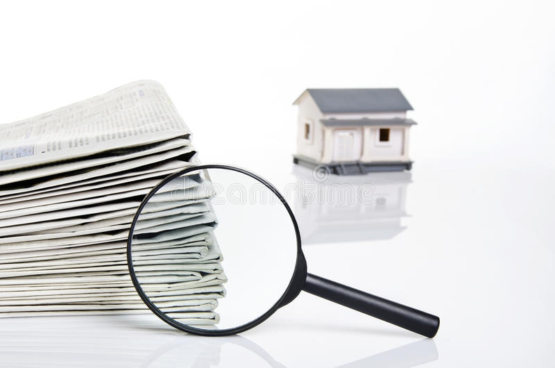 Download Finding a dreamed house stock image. Image of sales, property - 23567981