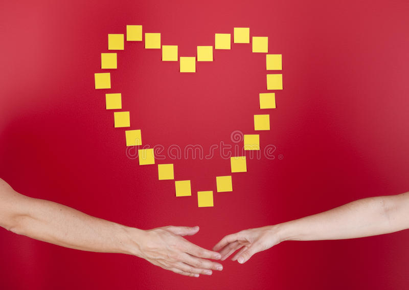 Download Finding love stock photo. Image of care, shape, concept - 19501434