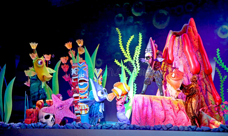 Finding Nemo - The Musical stock photo