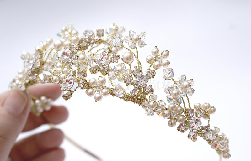 Finding the Tiara stock images