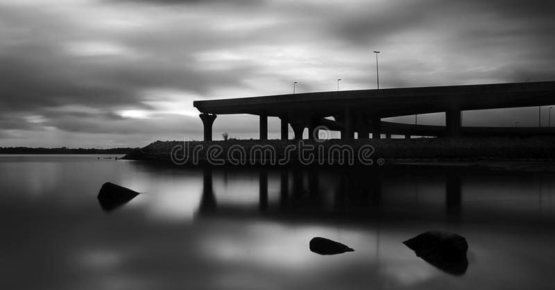 Fine art black and white royalty free stock images