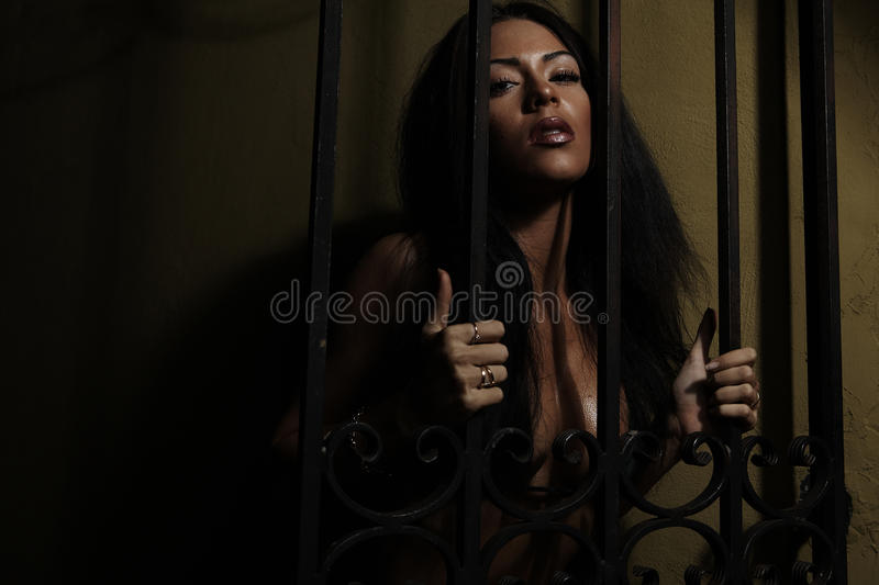 Fine art photo of a beautiful woman. royalty free stock photos