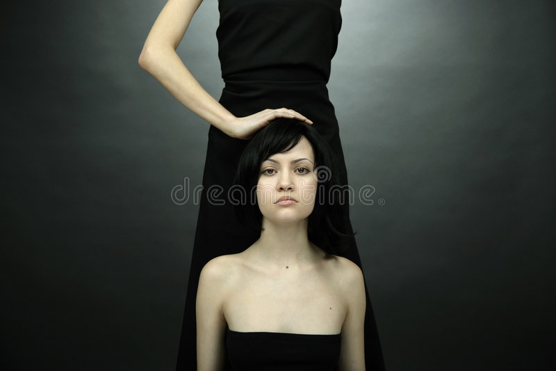 Download Fine Art Photo Of Two Women Stock Photo - Image: 4565556