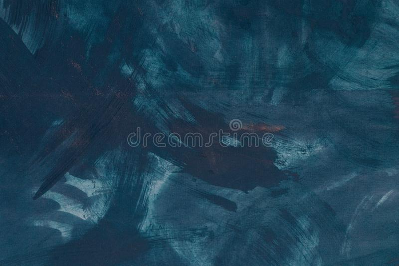 Fine astratta del fondo della pittura di colore verde su fotografia stock libera da diritti