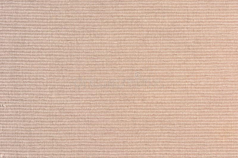 Fine beige densa del tessuto da arredamento su Fondo in bianco astratto per le disposizioni fotografia stock libera da diritti