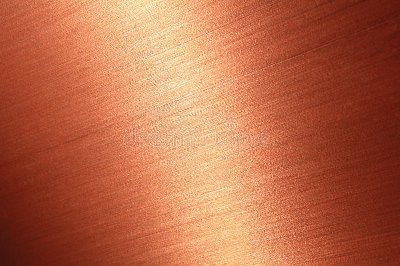 Download Fine Brushed Copper Texture Stock Photo - Image of brown, light: 23173424
