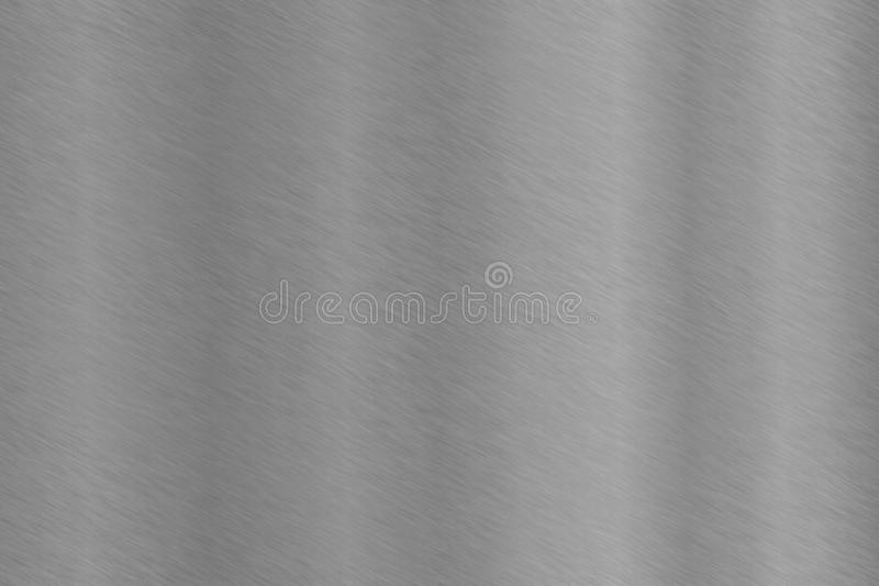 Fine brushed polished aluminum stainless steel royalty free stock photos