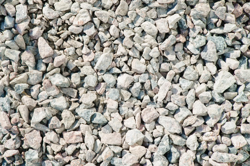 Fine and coarse gravel as background. Or texture royalty free stock photography