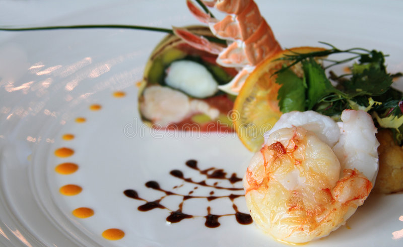 Fine Cuisine royalty free stock image