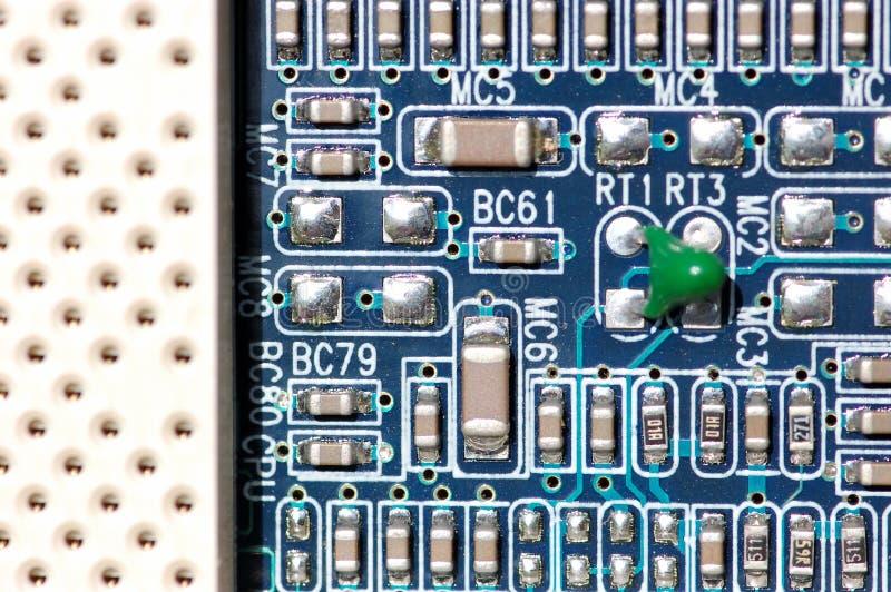 Fine del circuito immagini stock