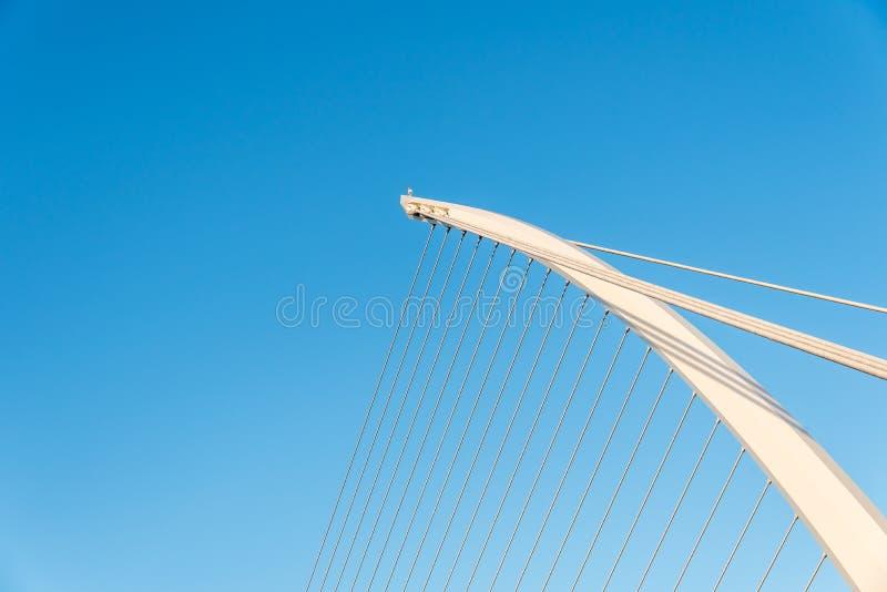 Fine del ponte di Samuel Beckett su immagini stock libere da diritti