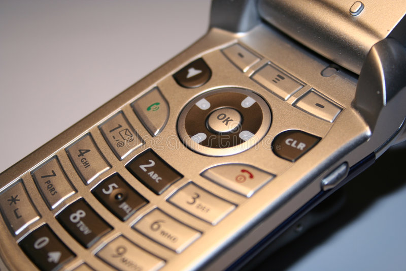 Download Fine Del Telefono Delle Cellule In Su Fotografia Stock - Immagine di cellula, inverso: 208218