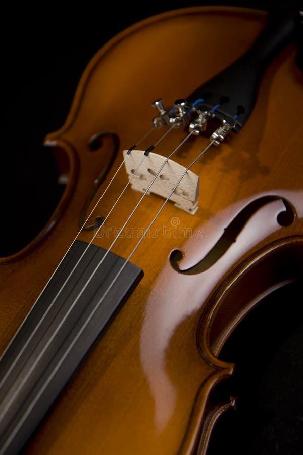 Fine del violino immagine stock