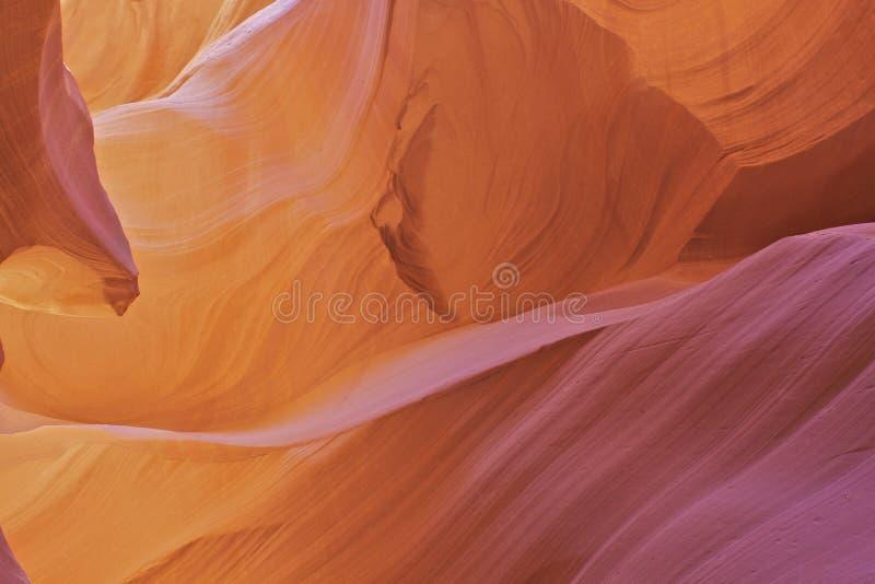 Fine dell'estratto del canyon dell'antilope in su immagini stock libere da diritti
