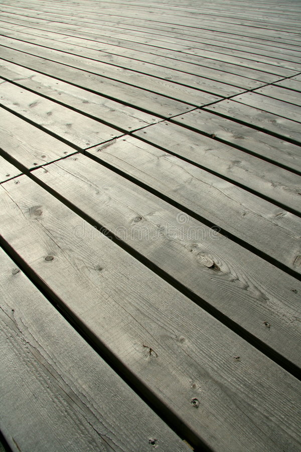 Fine di legno della piattaforma in su fotografia stock libera da diritti