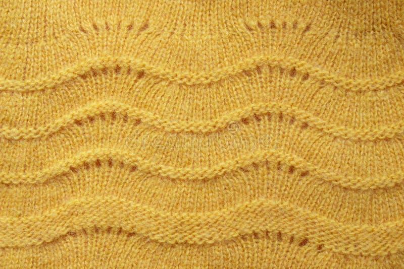 Fine di struttura del maglione della lana su immagine stock libera da diritti