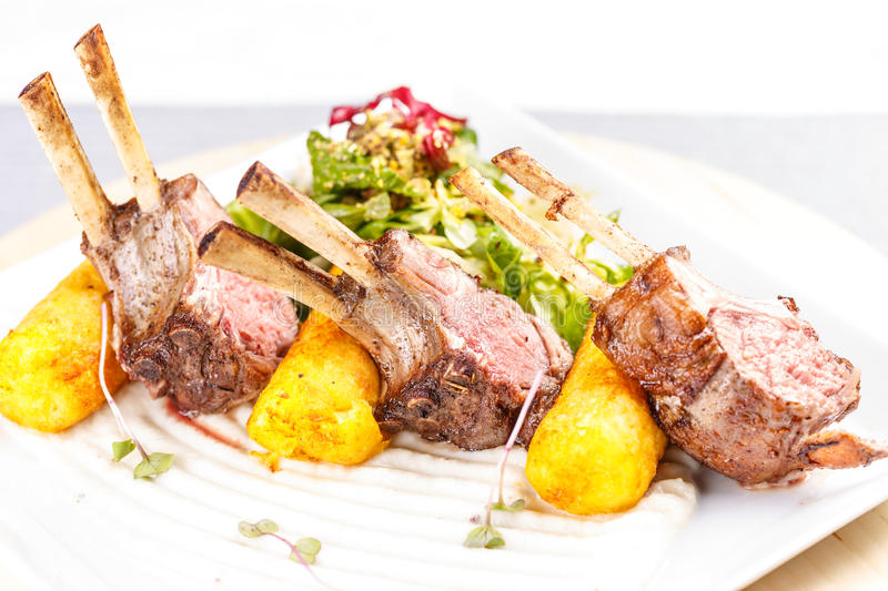 Fine dining stock images