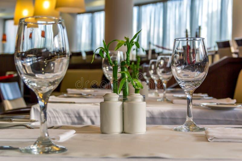 Fine dining stock photos
