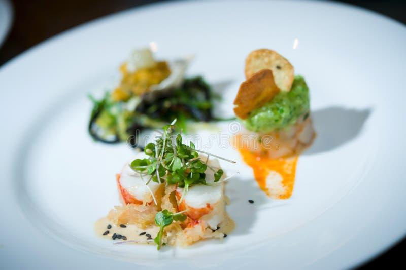 Fine dining sushi royalty free stock photos