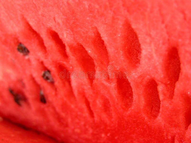 Fine e yummy - anguria fotografie stock