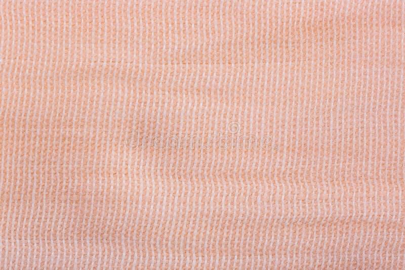 Fine elastica della fasciatura su, per fondo, struttura immagine stock