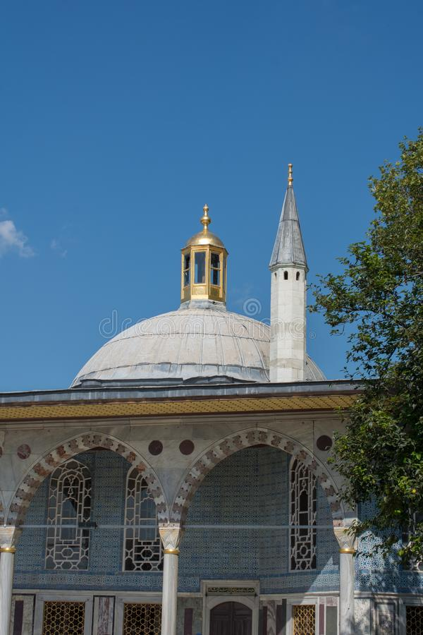 Fine example of ottoman Turkish architecture royalty free stock images