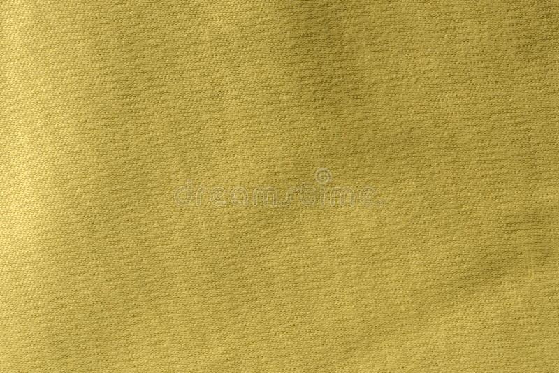 Fine gialla di macro del tessuto del microfiber su fotografie stock libere da diritti