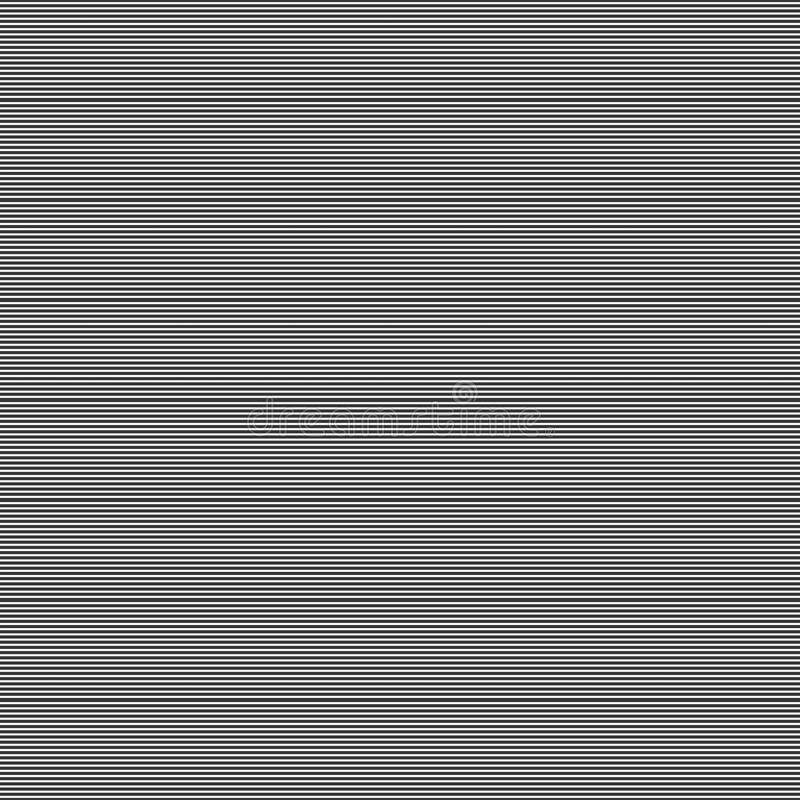 Fine Line motif seamless design pattern. stock illustration