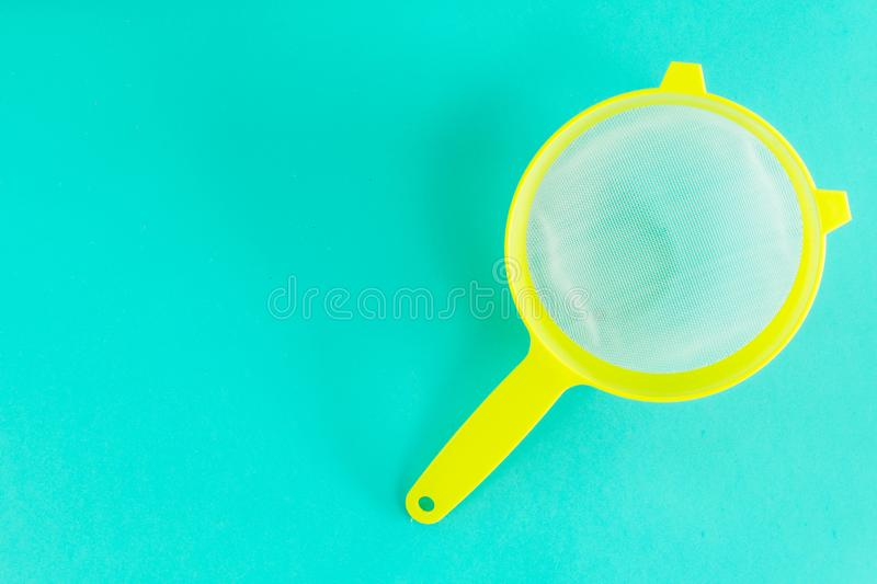 Fine mesh strainer royalty free stock image