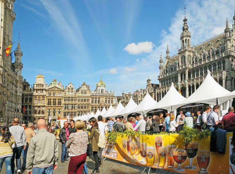 Fine settimana belga della birra immagini stock